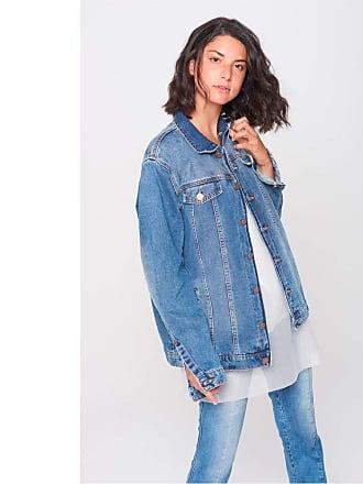 Damyller Jaqueta Jeans Trucker Unissex Tam: GG/Cor: BLUE