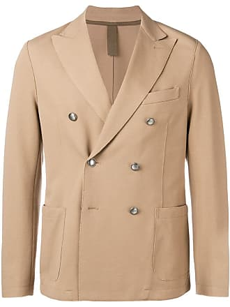 Eleventy classic double-breasted blazer - Marrom