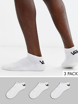 Vans Classic - Niedrig geschnittene Sneakersocken in Weiß im 3er-Pack