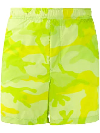 0729c58e20 Valentino Valentino Garavani fluorescent camouflage swim shorts - Green