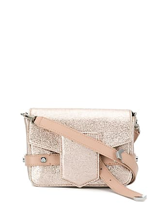 Jimmy Choo London lexie metallic satchel - Rosa