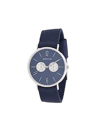 15f7464d45e Bering Relógio Titanium de couro - Azul