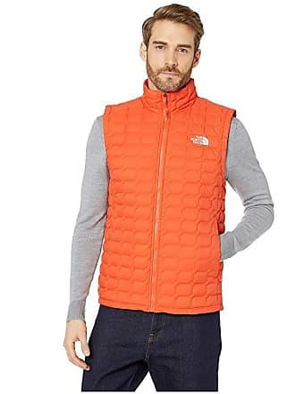 The North Face Thermoball Vest (Zion Orange Matte) Mens Vest