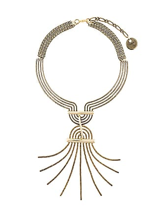 Lanvin spiral spread necklace - Metallic