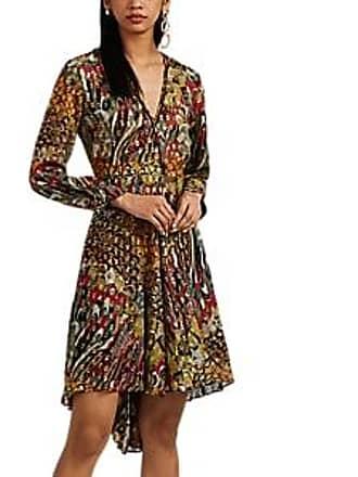 Zadig & Voltaire Womens Floral Silk Fil Coupé Dress Size XS