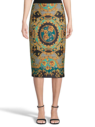 5twelve Printed Scuba Pencil Skirt