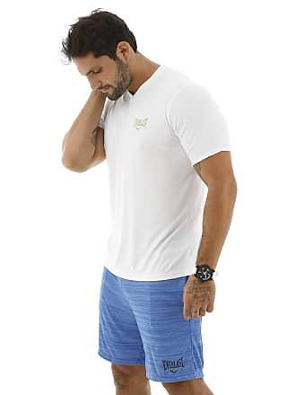 Everlast Camiseta Dry Everlast Gola V Branco