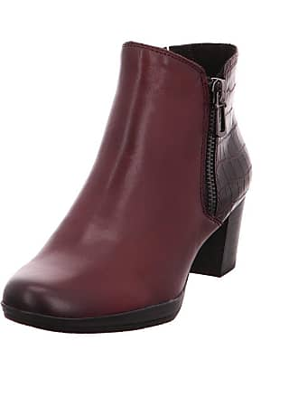Marco Tozzi Marco Tozzi 2-25388-39 Womens Bordeaux Leather Booties, 7.5 UK bf6d3d4451e1
