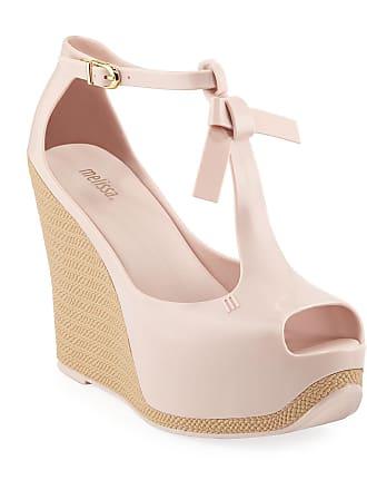 Melissa Peace PVC Platform Wedge Sandals