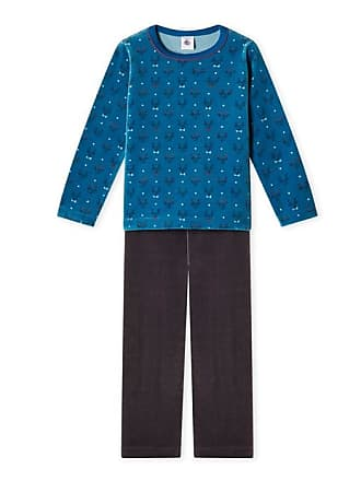 96b7e0414f9 Petit Bateau Exclu web - Pijama para niño en terciopelo