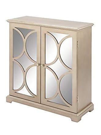 UMA Enterprises Inc. Deco 79 48679 Wood MIR Cabinet