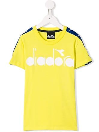 Diadora Camiseta com estampa de logo - Amarelo