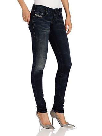 Diesel Womens Grupee-NE Super Skinny Leg Jogg Jean 0601L, Denim, 27x32