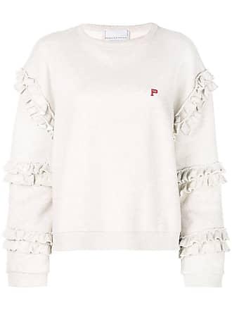 Philosophy di Lorenzo Serafini ruffle trimmed sweatshirt - Neutrals