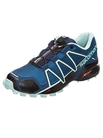Salomon Loopschoen Speedcross 4 blauw   turquoise   zwart 9a48a3cc03