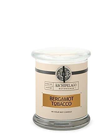 Archipelago Botanicals Archipelago Bergamot Tobacco Glass Jar Candle