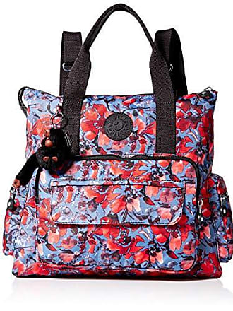 Kipling womens Alvy 2-in-1 Convertible Tote Bag Backpack, Festive Floral, One Size