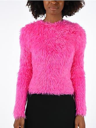 Balenciaga Faux Fur Sweater Größe M