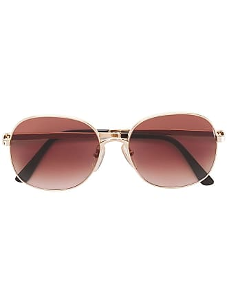 Emmanuelle Khanh M300 aviator sunglasses - Dourado