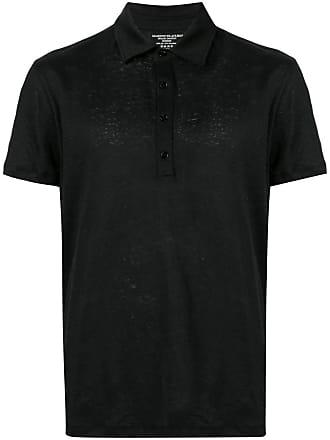 Majestic Filatures Camisa polo mangas curtas - Preto