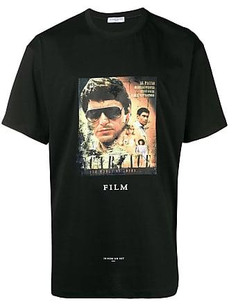 Ih Nom Uh Nit Scarface movie poster T-shirt - Black