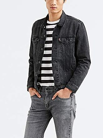Levi's Mens The Trucker Jacket Outerwear, Panther Trucker, M