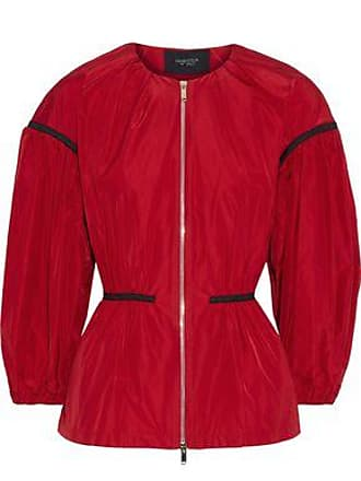 Giambattista Valli Giambattista Valli Woman Gathered Shell Peplum Jacket Red Size 40