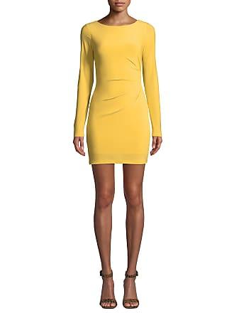3eeda5a65ce Jay Godfrey Ellsworth Long-Sleeve Scooped-Back Mini Dress