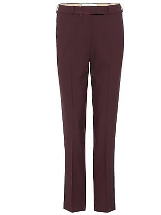 Etro Wool-crêpe tuxedo trousers