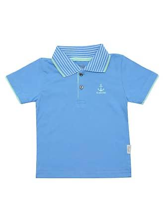 f841bb3559 ALAKAZOO Camisa Polo Alakazoo Menino Liso Azul