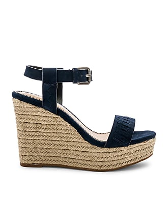 Splendid Shayla Wedge in Navy