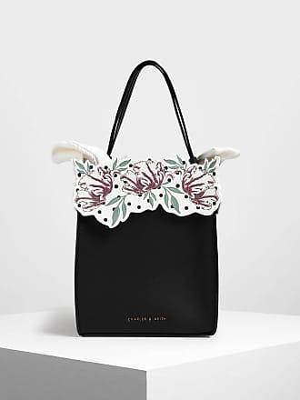 Charles & Keith Floral Bucket Bag