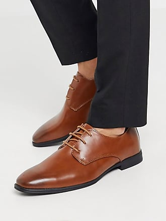 New Look smart oxford shoe in brown