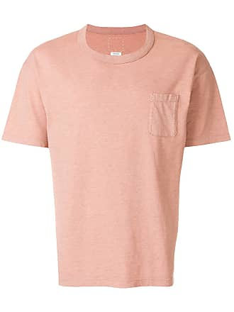 Visvim Camiseta com bolso frontal - Rosa