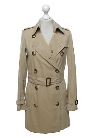 Burberry gebraucht - Jacke Mantel aus Baumwolle in Beige - DE 32 - Damen - 324a11717a