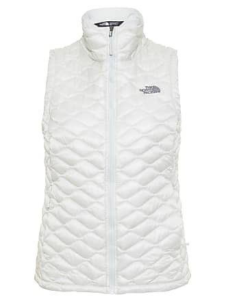 The North Face COLETE FEMININO THERMOBALL VEST - OFF WHITE