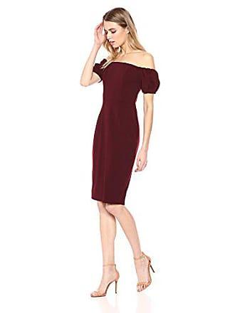 40e80ec86473c Betsy   Adam Womens Short Off The Shoulder Puff Sleeve Dress