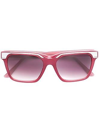 Emmanuelle Khanh square frame sunglasses - Rosa