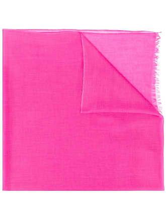 N.Peal Ultrafine Pashmina shawl - Pink