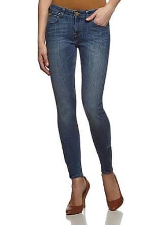 09b8ad05 Lee scarlett cropped - jeans - skinny - femme - bleu (bleu ewbm) -