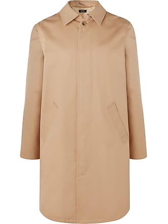 A.P.C. Cotton-twill Trench Coat - Beige