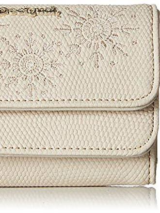 3.5x9x12 cm Desigual Mone/_caliope Mix femme Portefeuilles Blanc Marfil B x H x T