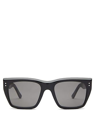 f11c6ec99e Celine Square Frame Acetate Sunglasses - Womens - Black
