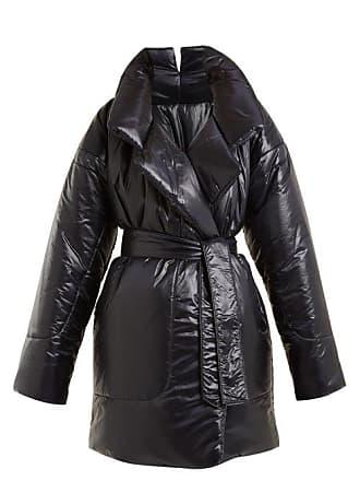 Norma Kamali Sleeping Bag Knee Length Coat - Womens - Black