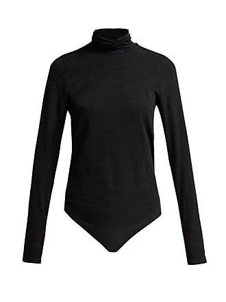 Wolford Colorado Lax Fit Bodysuit - Womens - Black Grey
