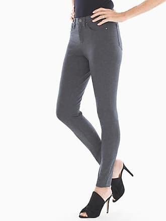 Soma Style Essentials Slimming 5 Pocket Ponte Pants Heather Quartz, Size XXL