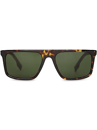 bd38aeccb4be Burberry Sunglasses Straight-brow Sunglasses - Brown