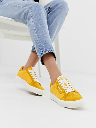 adidas Originals Continental 80 Vulc - Senfgelbe Sneaker