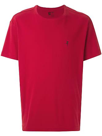 Osklen T-shirt com detalhe estampado - Vermelho