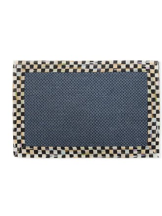 MacKenzie-Childs Courtly Check Sisal Rug, 2 x 3